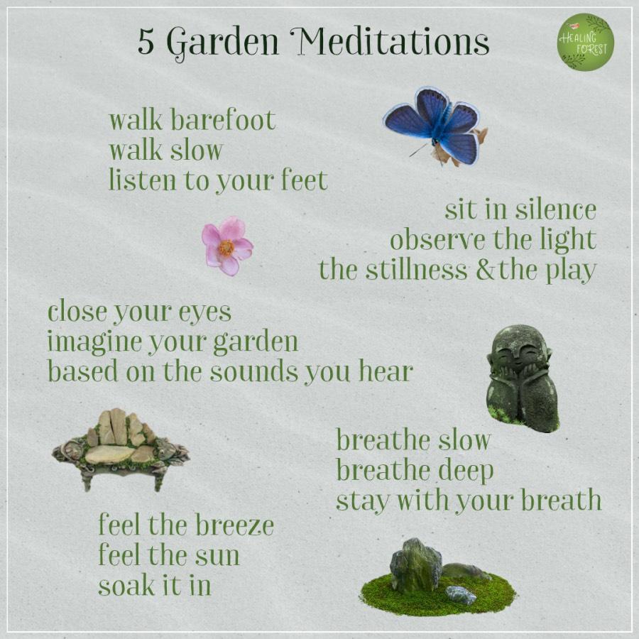 5 Garden Meditations